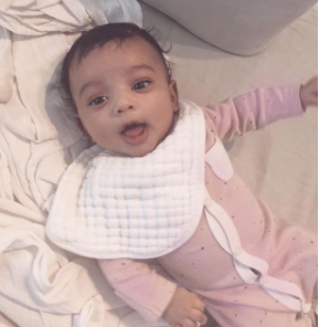 Kim Kardashian shares adorable photo of her baby, Chicago West