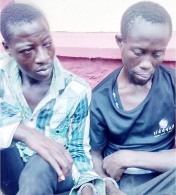 Robbers arrested in Ogun State says,
