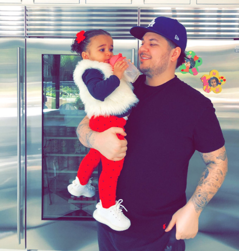 Rob Kardashian shares first photo in months to mark his birthday and Dream looks adorable in it