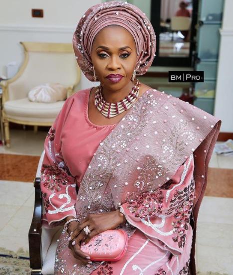 Stunning photos of billionaire businesswoman, Bola Shagaya at her son
