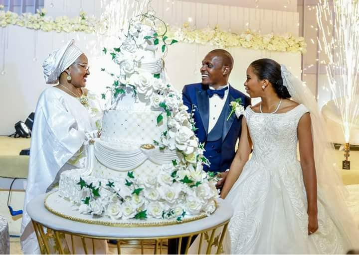 More beautiful photos from the wedding of Oludamilola Osinbajo to Seun Bakare