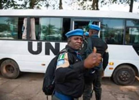 United Nations withdraws 108 Nigerian peace-keeping police officers?in Liberia after 5-years