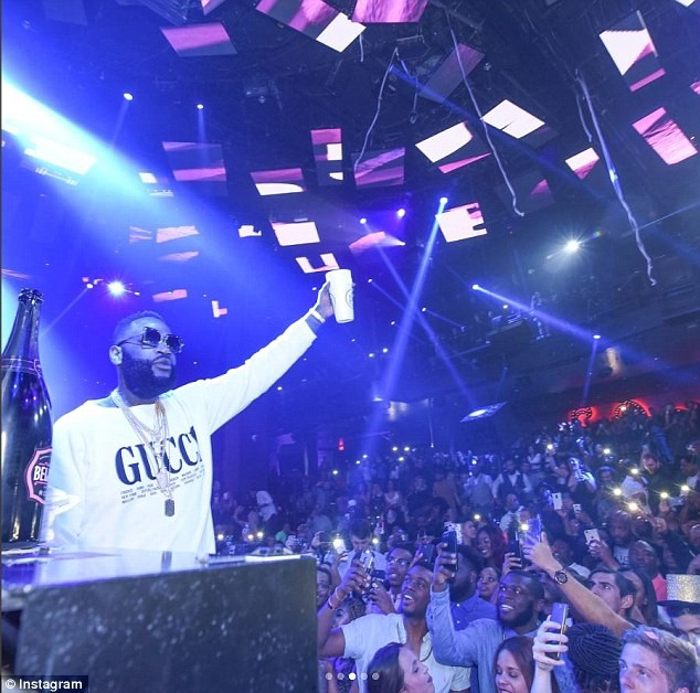 Photos: Rick Ross returns to stage for the first time after major health scare