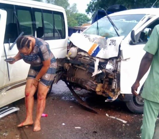 Nigerian man shares his testimony after escaping death in accident