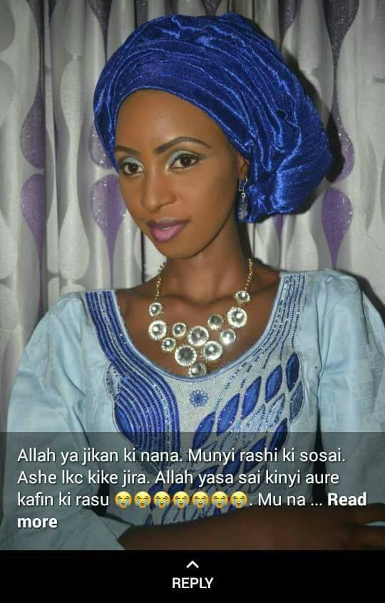 Nigerian lady dies from injuries she sustained in a fire outbreak three days after her wedding (photos)