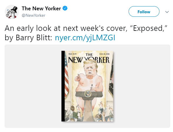 Outrage over New Yorker magazine