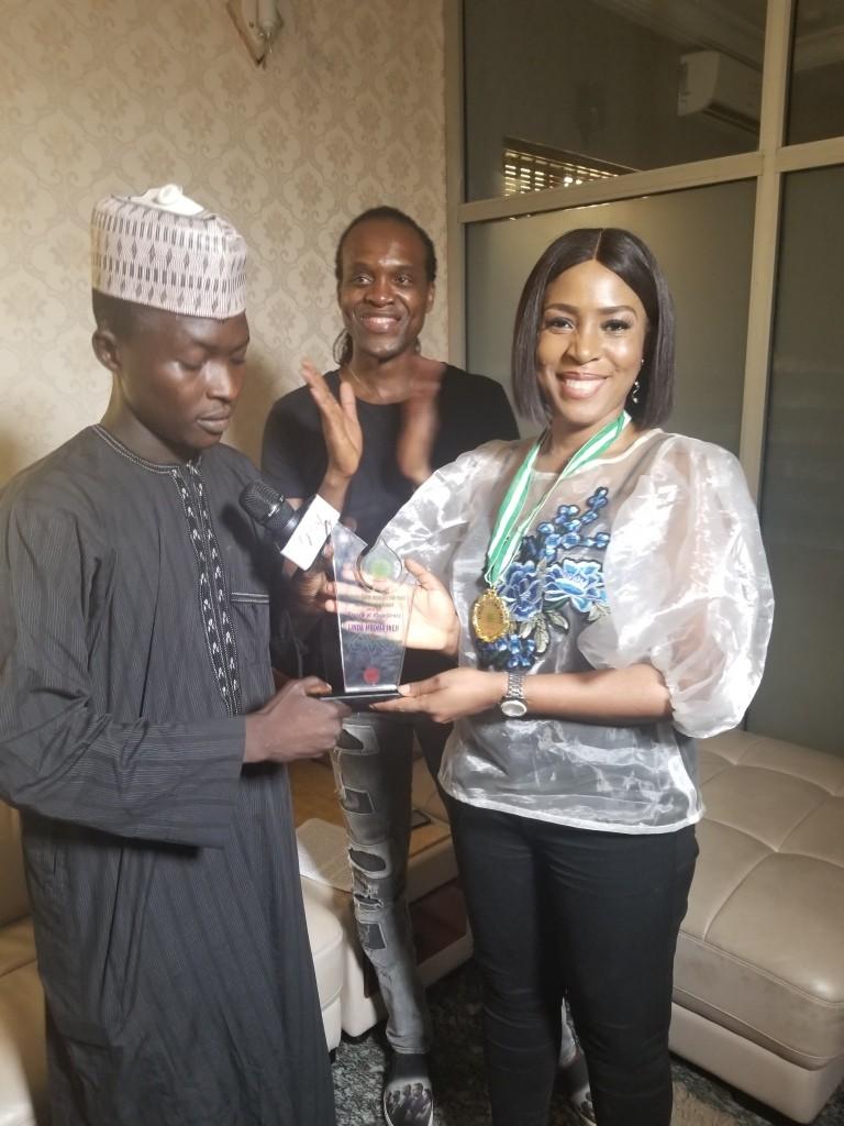 Meet the new Gimbiyan Matasan Arewa (Princess of Arewa Youths). Me! Yay! (photos)