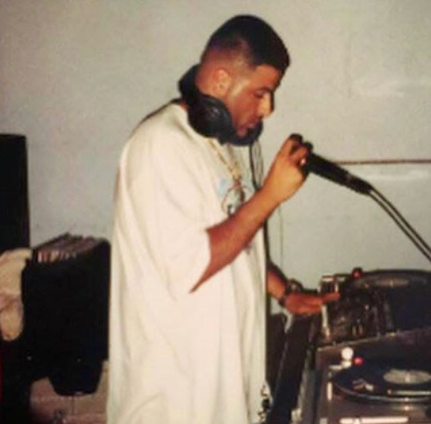 Check out this photo of DJ Khaled taken at a time when he was still slender
