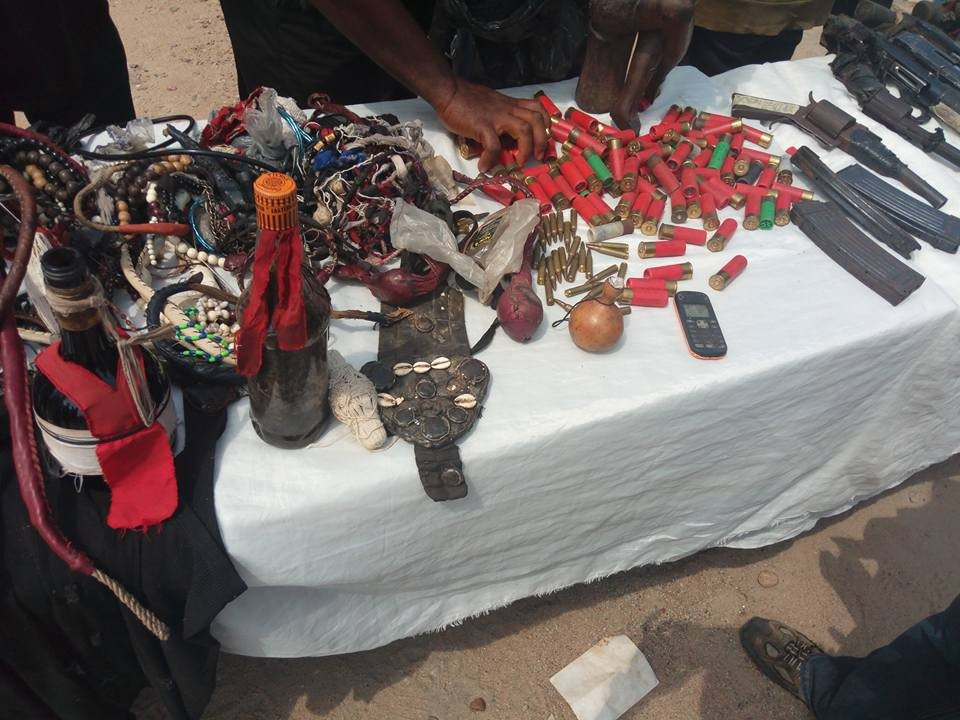 Police parades notorious and vicious political thugs allegedly working for Senator Dino Melaye (Photos)