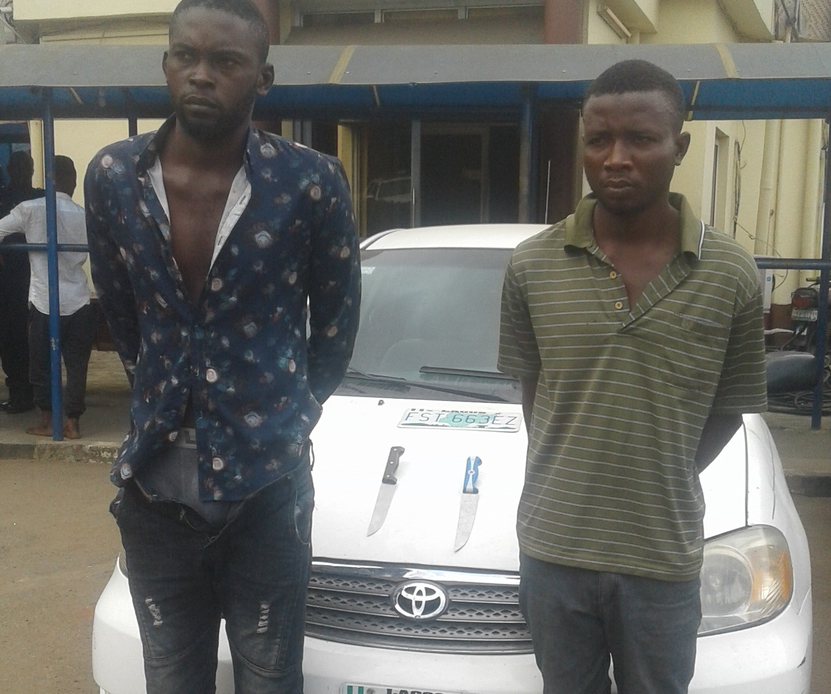 Robbers kill a taxify driver and sold his car for N350,000