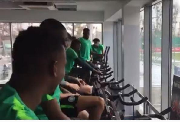 Super Eagles begin preparations for pre-2018 World Cup friendly against Poland (Videos)
