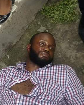 Corpse of an unidentified man found along old Aba road, Port Harcourt