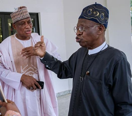Caption this Photo of Minister of Information and Culture,?Lai Mohammed