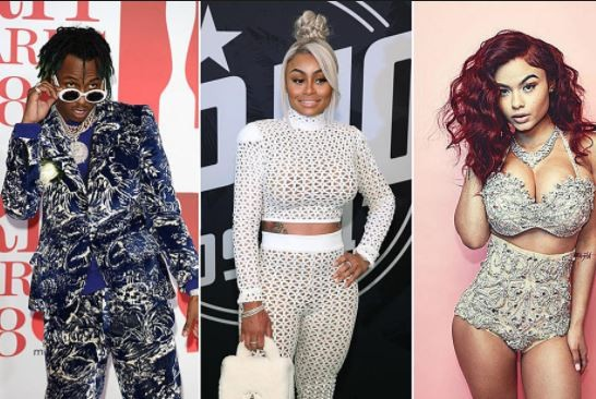 Blac Chyna allegedly crashes another home, as rapper Rich the Kid