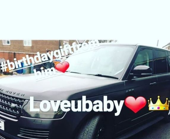 Super Eagles striker,?Jude Ighalo gifts his wife a brand new Range Rover on her birthday