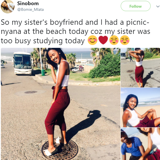 Dear ladies, would you allow your sister go on a picnic date alone with your boyfriend?