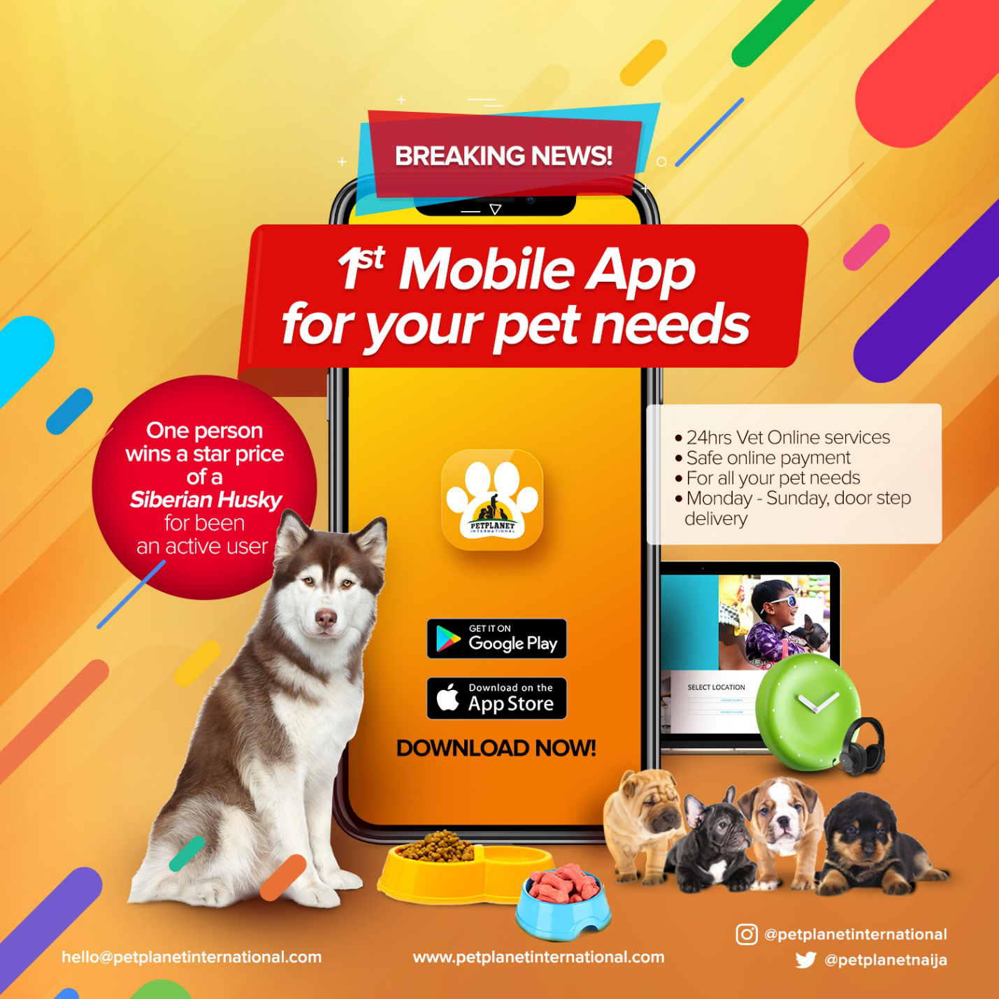 Pet Planet International introduces mobile app for pet lovers