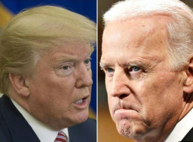 Crazy Joe Biden is trying to act like a tough guy but he