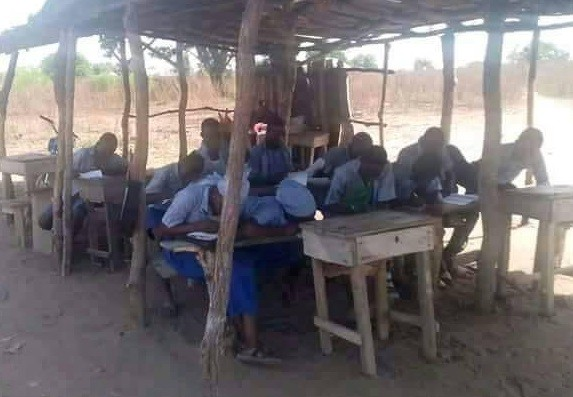 See the deplorable condition of a school in Kwara state