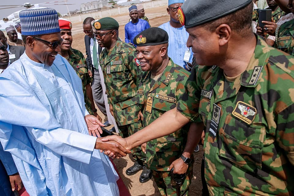 Photos from President Buhari