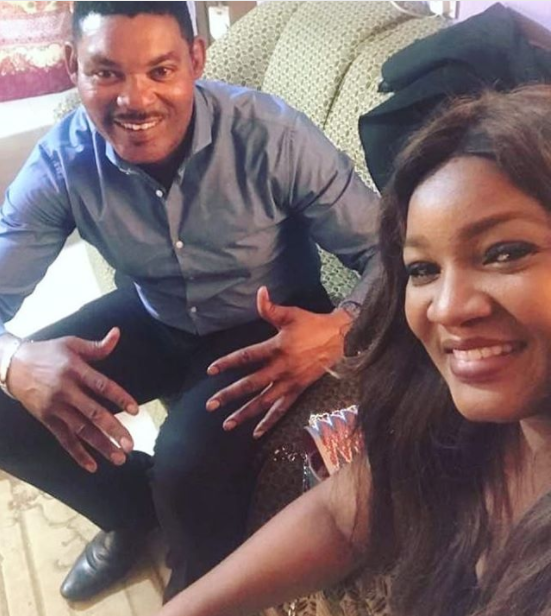 Omotola Jalade-Ekeinde showers encomium on her husband as he turns 50 and they mark 22 years wedding anniversary