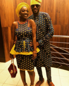 Aww! Annie Idibia surprises her husband, 2face, with a trip to Ghana for their wedding anniversary