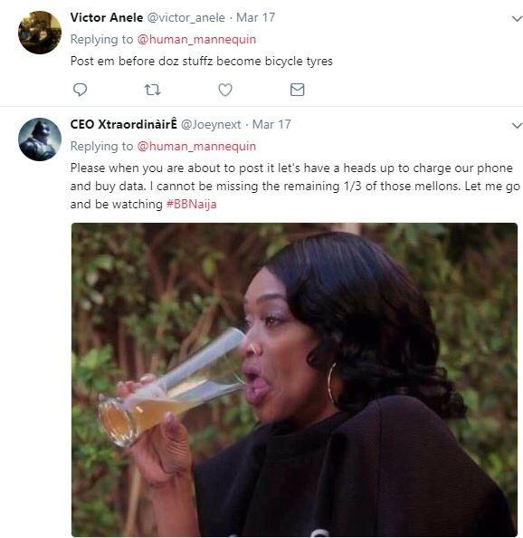 Lady tweets