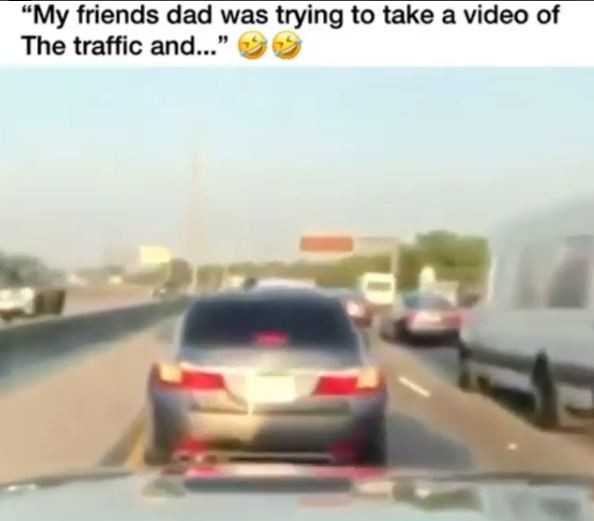 Man does the unthinkable while trying to make a video of heavy Miami traffic (Watch)
