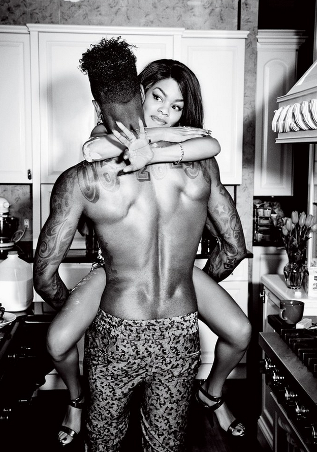 This pic of Teyana Taylor and Iman Shumpert is hella cute