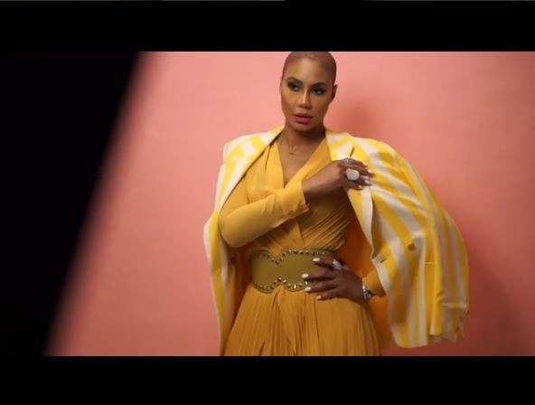 Tamar Braxton shares stunning new photos after going bald?