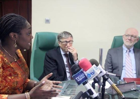 Caption this photo of Bill Gates and Nigeria