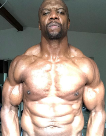 Terry Crews, 49, shows off his muscular body in new photo