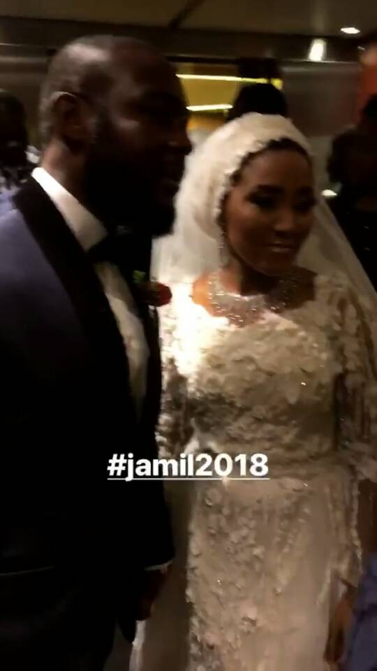 First photos from Fatima Dangote and Jamil Abubakar