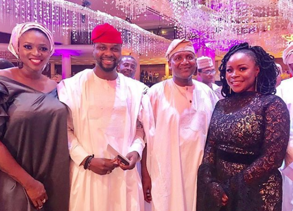 More photos from the grand wedding finale of Aliko Dangote