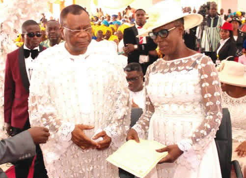 75-year-old popular evangelist, Prophet Samuel Abiara, remarries (photo)