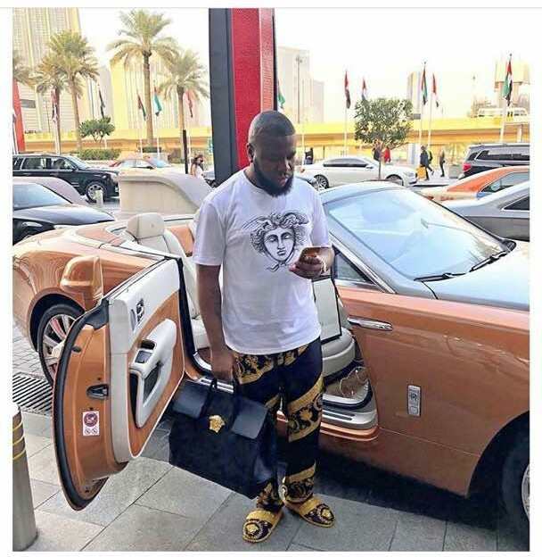 Hushpuppi throws shade at