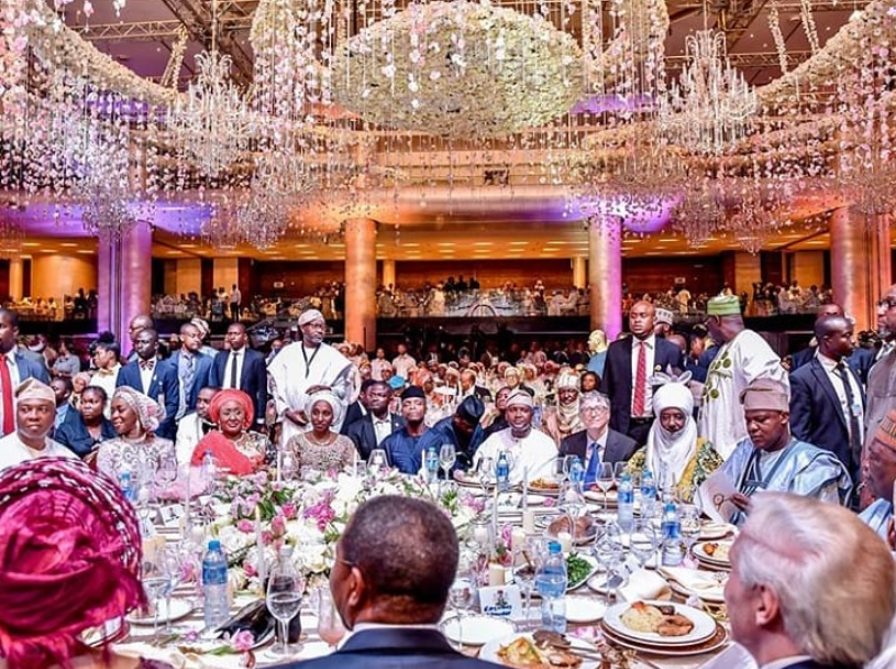 Table shakers get in here! How much is this table at Dangote