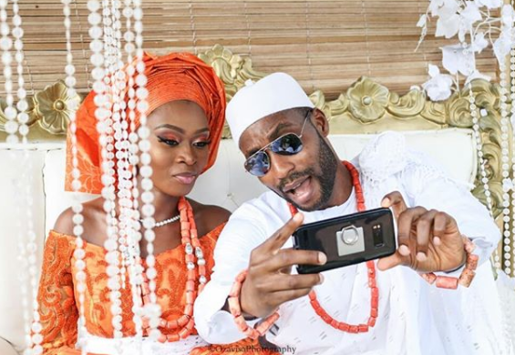Photos from the traditional wedding of writer, Okechukwu Ofili