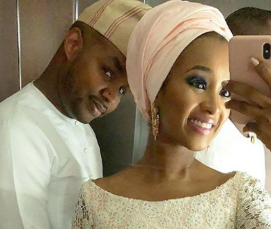 Lovely photos of billionaire couple, Usman Dantata and Rukky Indimi at Fatima Dangote