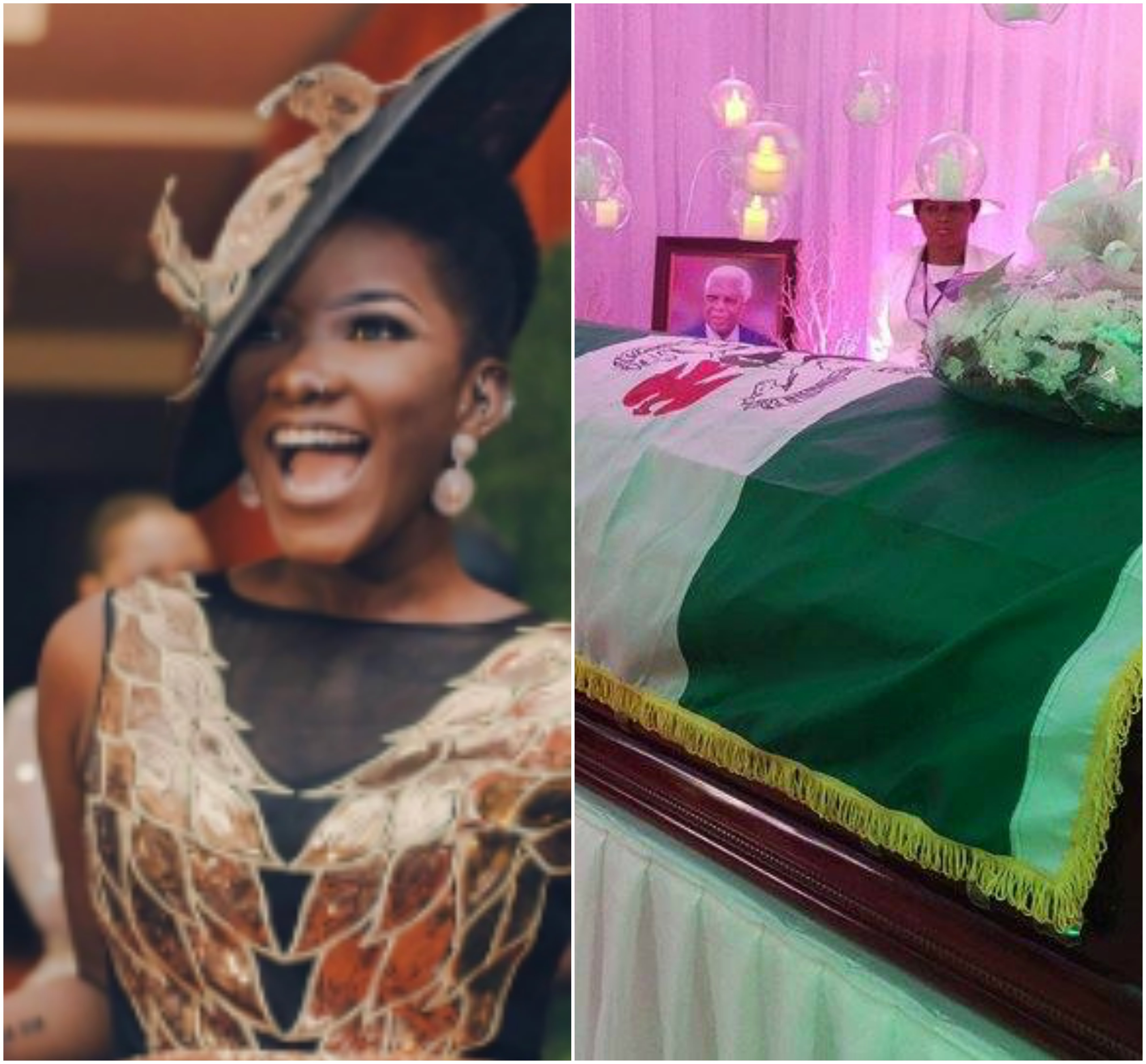 Photos from the funeral of Ghanaian singer, Ebony Reign