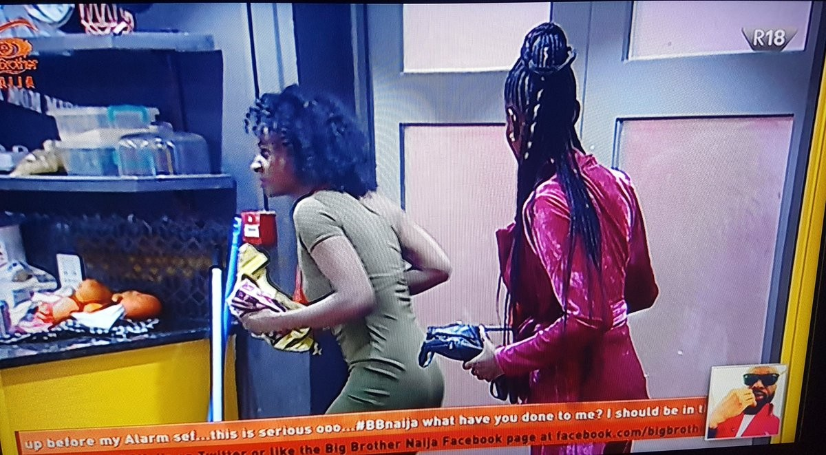 Watch video of Khloe and Anto sneaking into Big Brother House while other housemates were fast asleep