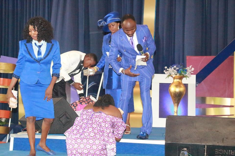 Photos from the birthday party of clergyman, Apostle Johnson Suleman
