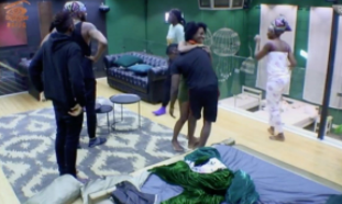 Watch how the housemates reacted after they saw Khloe and Anto