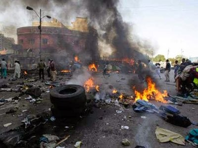Three female suicide bombers strike in Borno