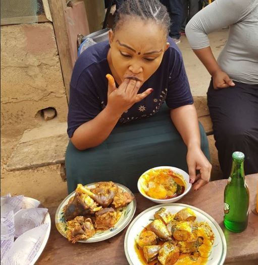 Caption this photo of Mercy Aigbe