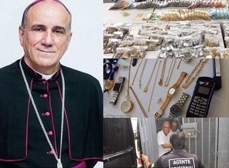 Catholic bishop arrested in Brazil for diverting tithes and offerings