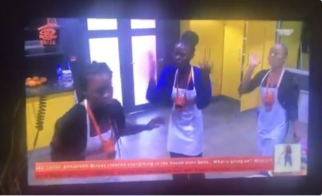 Drama in Big Brother house! Khloe and Nina team up & nearly come to blows with Cee-C (Videos)