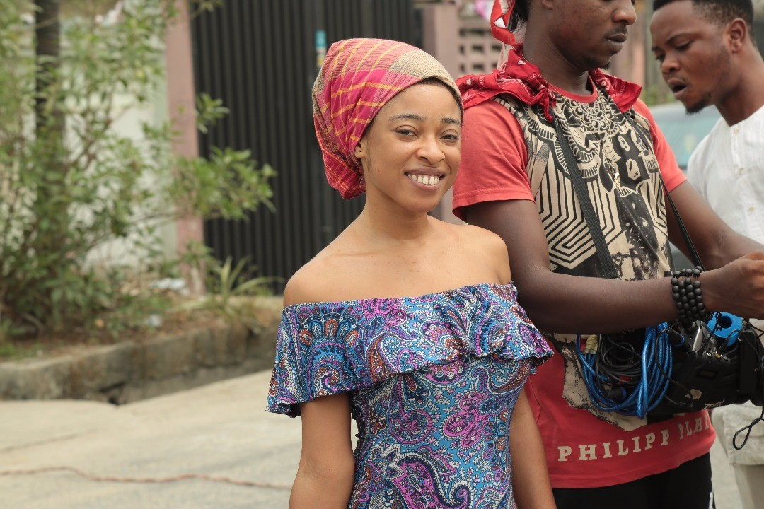 Actress Valerie Udeh star?s in Nigeria?s Blockbuster TV series  Holy Grail