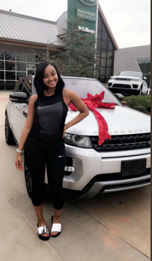 16 year old girl gets a Range Rover from her mom as a birthday gift