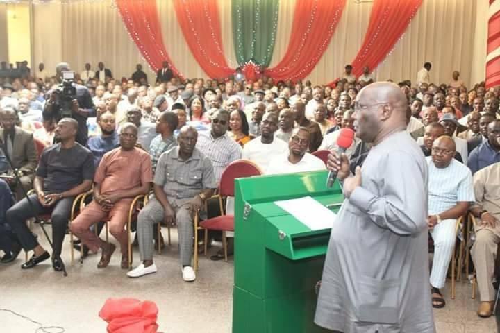 Former VP, Atiku Abubakar, declares his intention to run for President in 2019